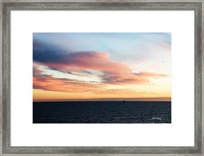 Golden Sunrise II Framed Print by Bill Perry