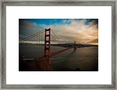 Golden Sunset Framed Print by Patrick  Flynn