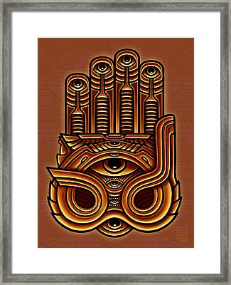 Golden Teacher 17 Framed Print by George Coghill