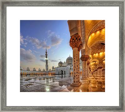 Golden Temple Framed Print