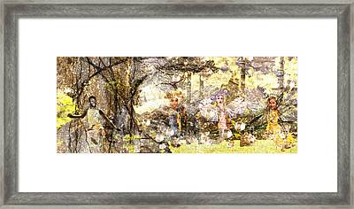 Golden Twilight Framed Print by Daniel Janda