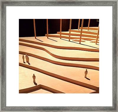 Golden Venice Series 3 Framed Print