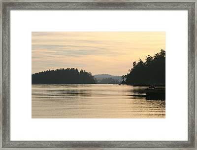 Golden Waters Framed Print by Doug Johnson
