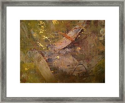 Golden Wind Framed Print