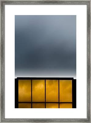 Golden Windows Framed Print by Bob Orsillo