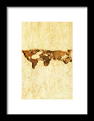 World Traveler Framed Prints