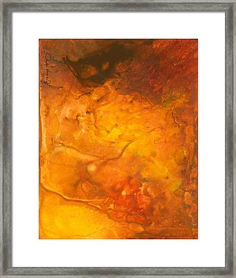 Framed Print featuring the painting Goldenglow by Phyllis Howard