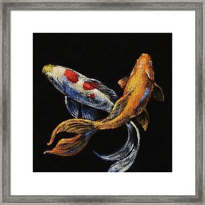 Goldfish Crossing II Framed Print