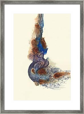 Goldfish - #ss14dw026 Framed Print by Satomi Sugimoto