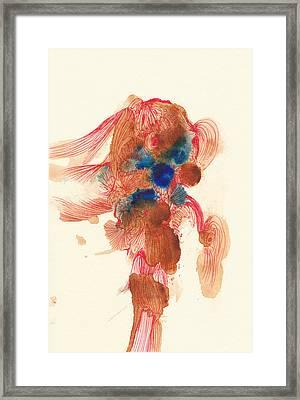 Goldfish- #ss14dw029 Framed Print by Satomi Sugimoto
