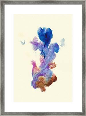Goldfish- #ss14dw031 Framed Print by Satomi Sugimoto