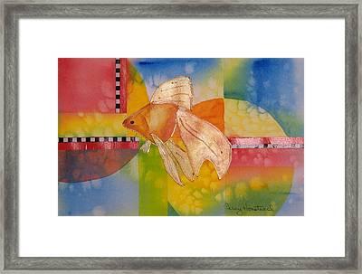 Goldfish Framed Print by Terry Honstead