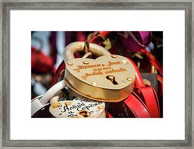 Goldielocks Framed Print