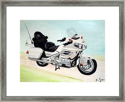 Goldwing Framed Print