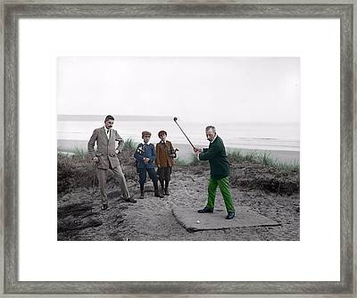 Golf 1907 Dream Framed Print