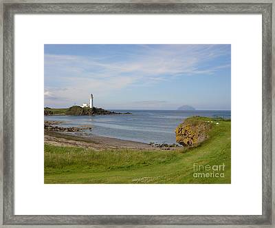 Golf At Turnberry Scotland Framed Print