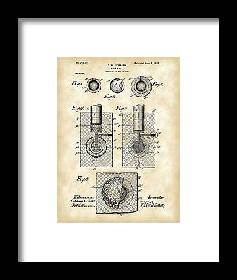 Patent Framed Prints