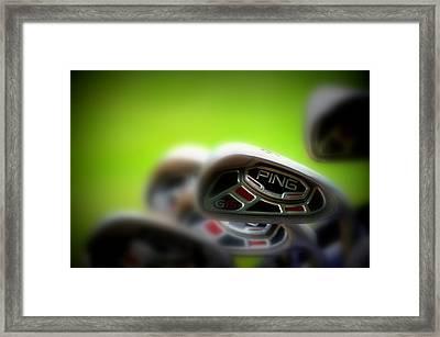 Golf Clubs 2 Framed Print