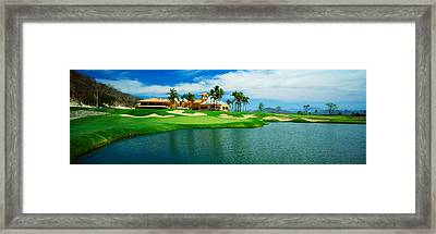 Golf Course At Isla Navadad Resort Framed Print by Panoramic Images