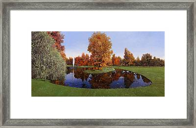 Golf  Cherasco Framed Print