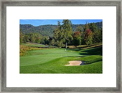 Early Autumn Golf Framed Print