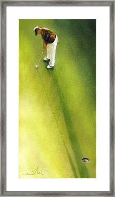 Golf In Spain Castello Masters  03 Framed Print by Miki De Goodaboom