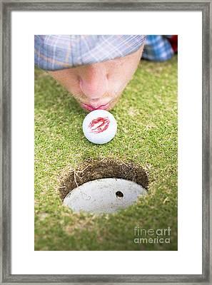 Golf Love At First Flight Framed Print by Jorgo Photography - Wall Art Gallery
