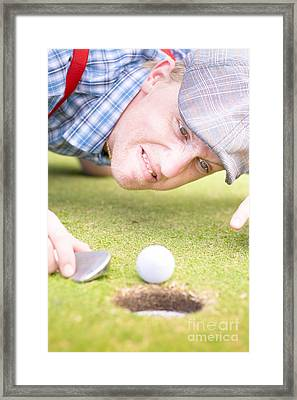 Golf Lunatic Framed Print by Jorgo Photography - Wall Art Gallery