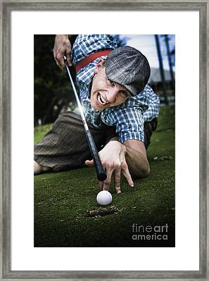 Golf Or Pool Framed Print by Jorgo Photography - Wall Art Gallery
