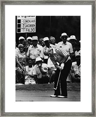 Golf Pro Jack Nicklaus, August, 1984 Framed Print