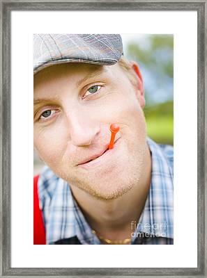 Golf Framed Print by Jorgo Photography - Wall Art Gallery