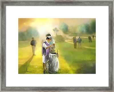 Golf Vivendi Trophy In France 03 Framed Print