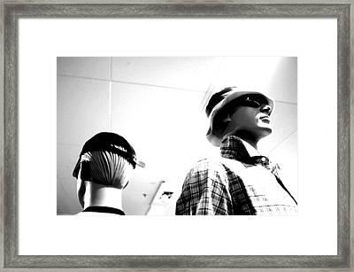 Golfing Yawn Framed Print by Jez C Self
