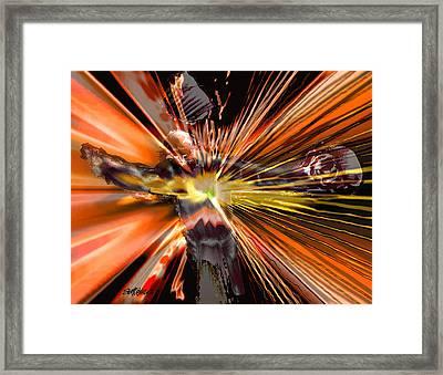 Golgotha Framed Print by Seth Weaver