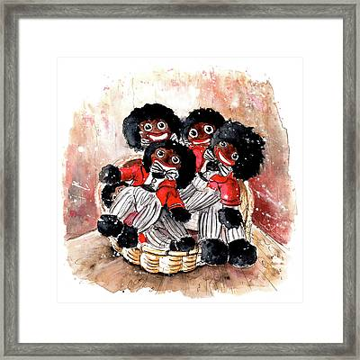 Gollivers From Whitby Framed Print