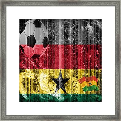 Gollll - Ghana Framed Print by Fania Simon