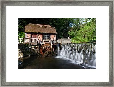 Gomez Mill In Spring #1 Framed Print