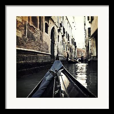 Gondola Ride Framed Prints