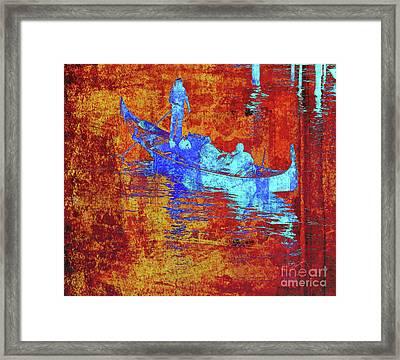 Gondola 1 Framed Print