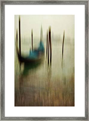Gondola 1 Framed Print by Marion Galt