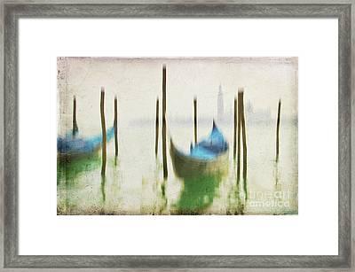 Gondola 3 Framed Print by Marion Galt