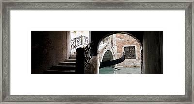 Gondola Da Ivo Framed Print