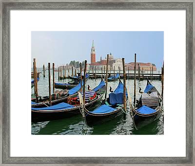 Gondola Station Framed Print