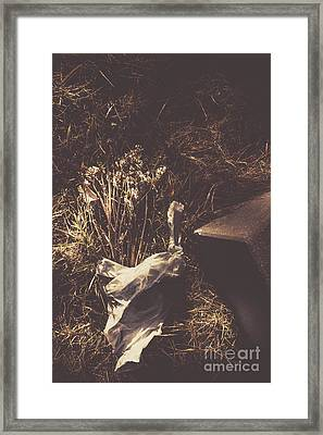 Gone And Forgotten Framed Print by Jorgo Photography - Wall Art Gallery