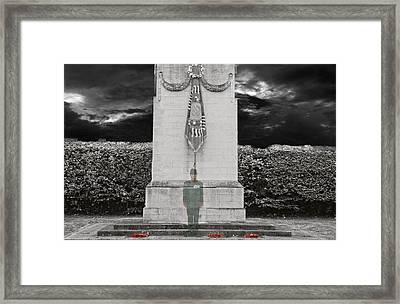 Gone But Not Forgotten - Lest We Forget Framed Print