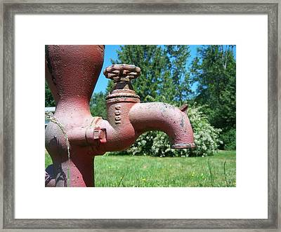 Gone Dry Framed Print by Ken Day