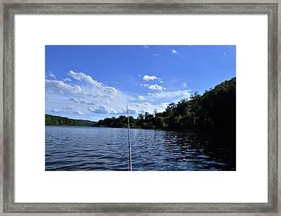 Gone Fishin Framed Print by Brynn Ditsche
