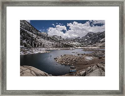 Gone Fishin' Framed Print by Cat Connor