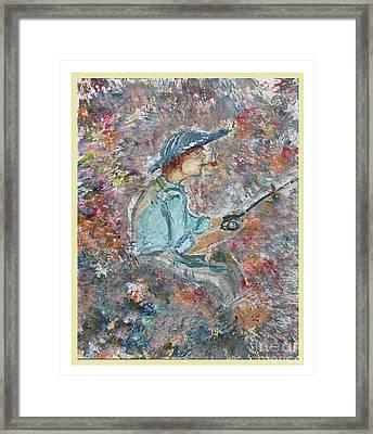 Gone Fishin' Framed Print by Corri Johanson