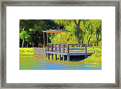 Gone Fishing 18-11 Framed Print